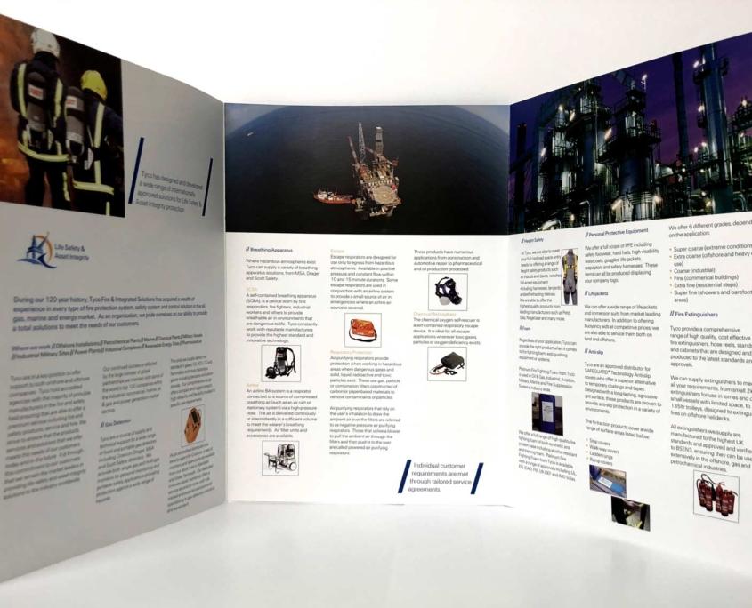 6pp A4 Brochures
